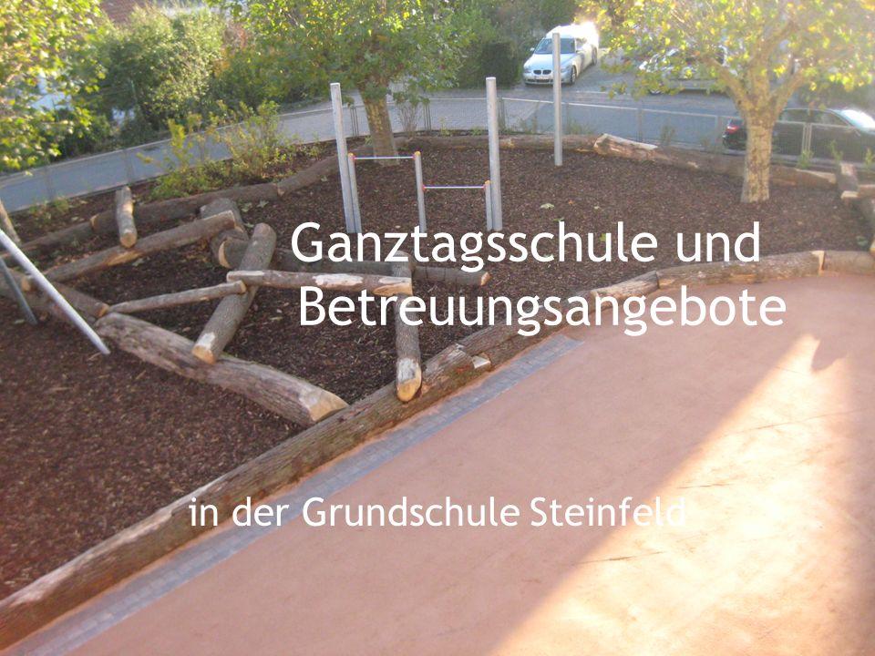 Ganztagsschule und Betreuungsangebote in der Grundschule Steinfeld