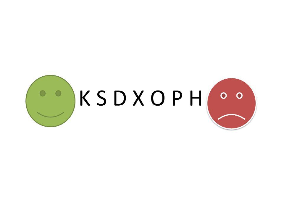 K S D X O P H