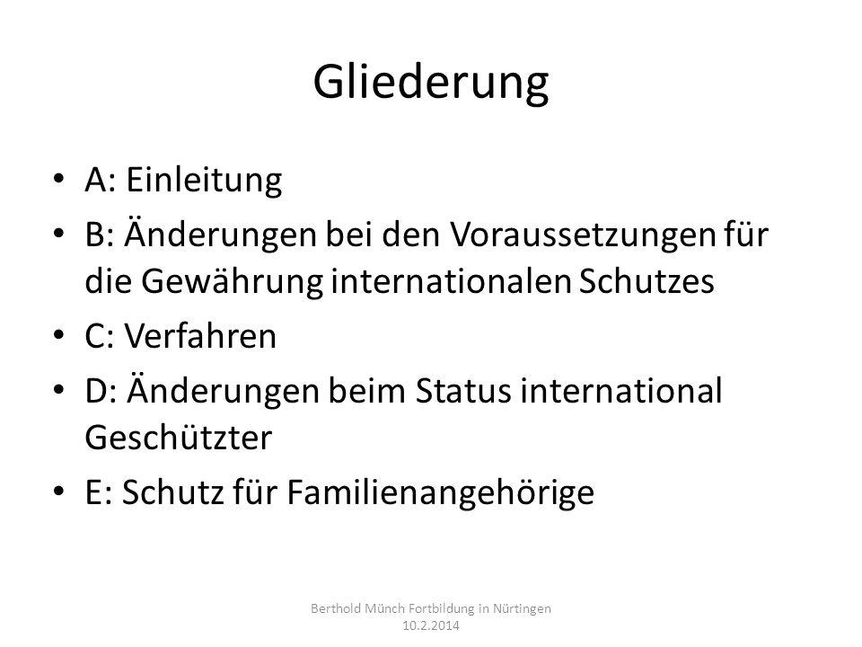 Richtlinienumsetzungsgesetz 2013 Gesetz zur Umsetzung der Richtlinie 2011/95/EU vom 28.8.2013 BGBl.