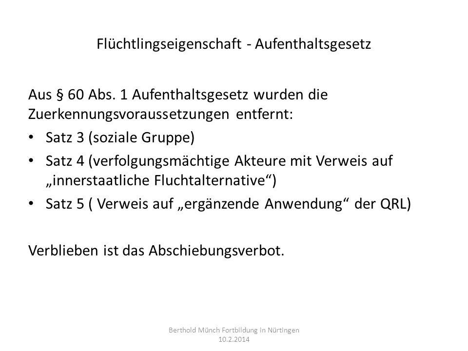 Familiennachzug I Zu Asylberechtigten und Flüchtlingen: Ehegatten: § 30 AufenthG, kein Spracherfordernis, § 29 Abs.