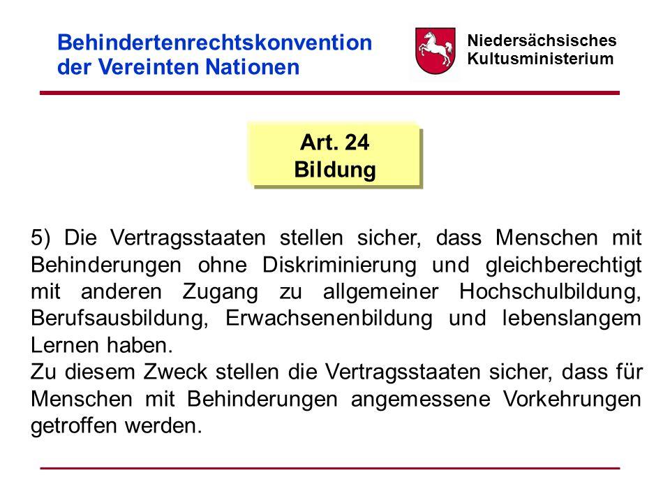 Niedersächsisches Kultusministerium Politischer Prozess 13.