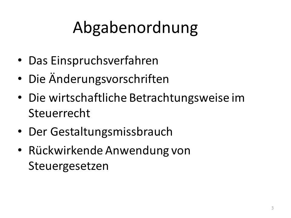 Fall AO 5: (Niedersächsisches FG vom 24.05.2011, 3 K 249/10, n.