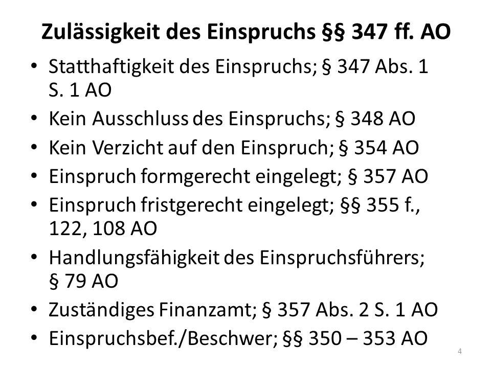 Fall AO 6: (BFH vom 19.10.2011, X R 29/10) Ein britischer Mediendesigner - wohnhaft in Deutschland - erzielt Einkünfte aus Gewerbebetrieb.