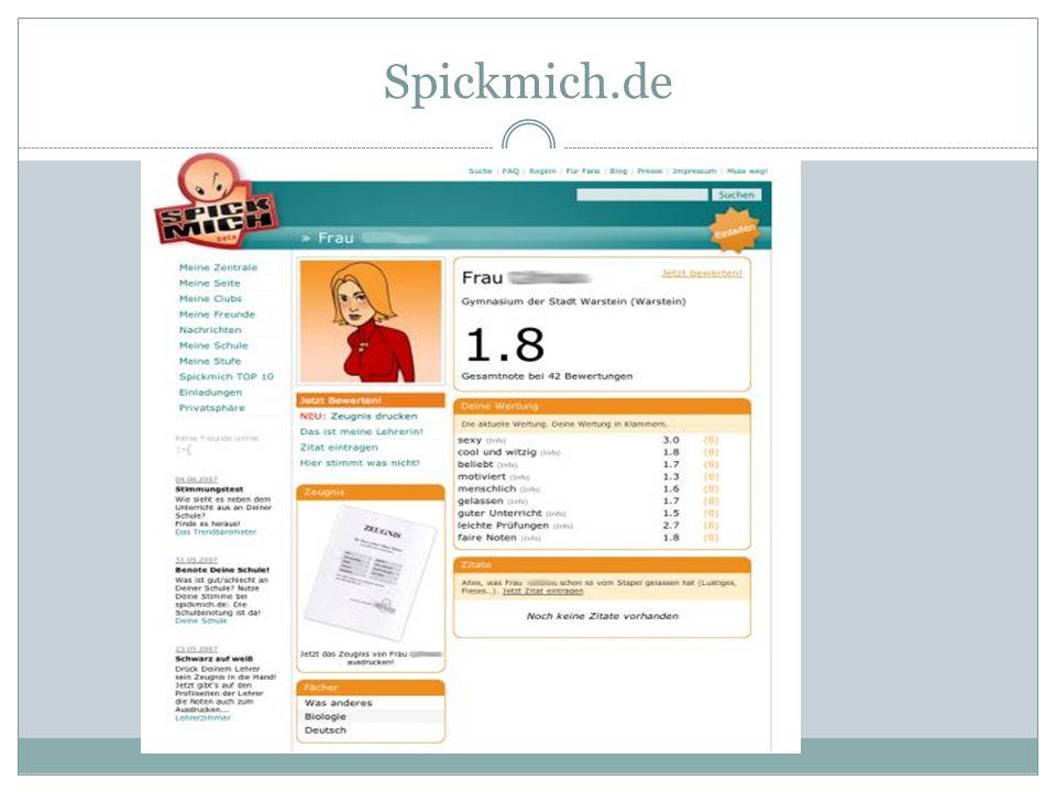 Spickmich.de
