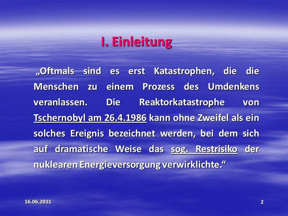 16.06.201143 § 66 Übergangsregelungen Grundsatz: Für Bestandanlage gilt das Recht im Zeitpunkt der Inbetriebnahme.