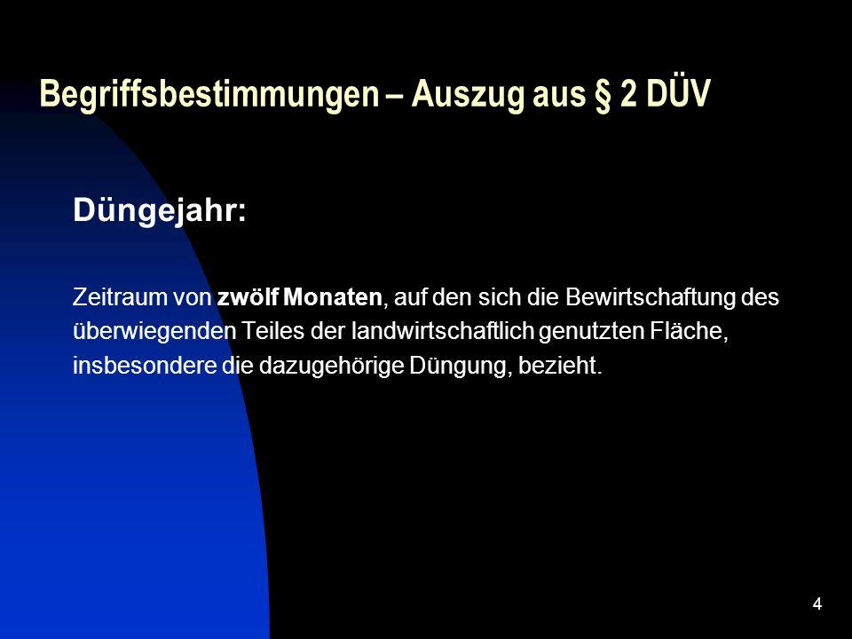 5 Begriffsdefinitionen - Auslegungen Land Brandenburg, Mecklenburg-Vorpommern und Sachsen-Anhalt Festmist ist ein Gemisch aus Kot und Harn von Tieren sowie Einstreu, die in der Regel aus Stroh oder Sägespänen besteht.