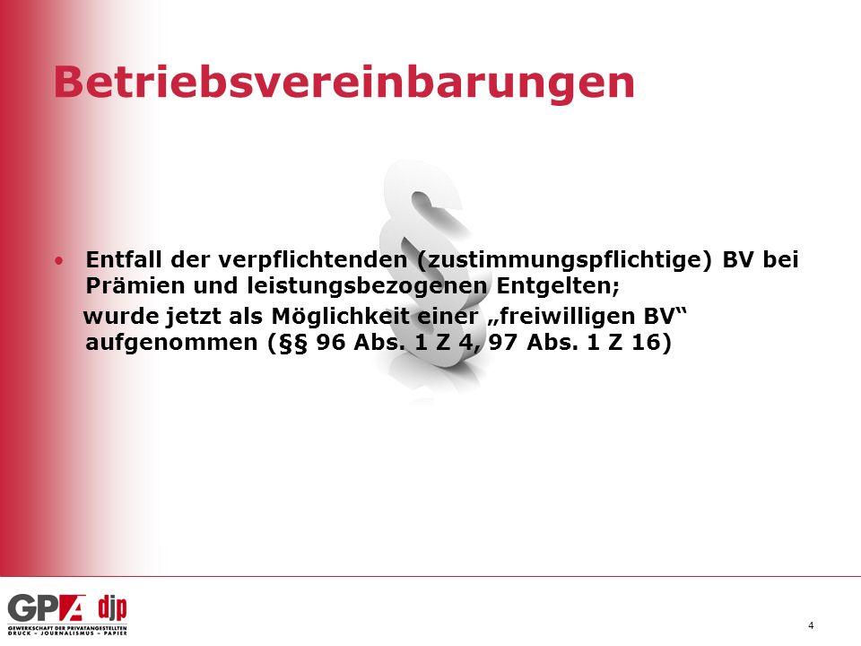 5 Kündigung Verlängerung der Stellungsnahmefrist des BR nach Verständigung der Kündigungsabsicht auf eine Woche (§ 105 Abs.