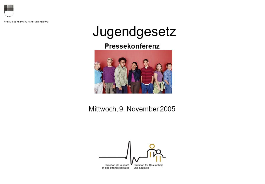 Jugendgesetz Pressekonferenz Mittwoch, 9. November 2005