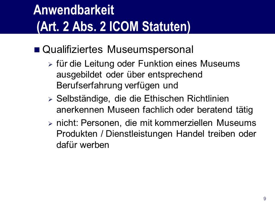 Anwendbarkeit (Art.2 Abs.