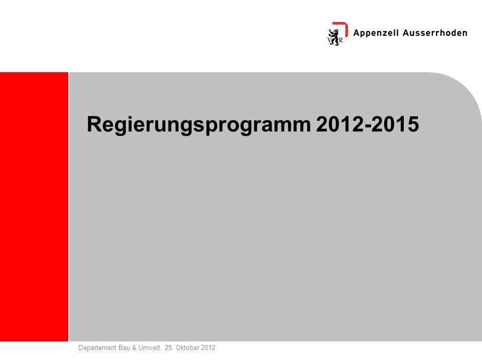 Regierungsprogramm 2012-2015