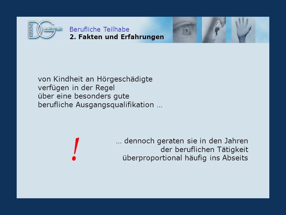 Berufliche Teilhabe 2.