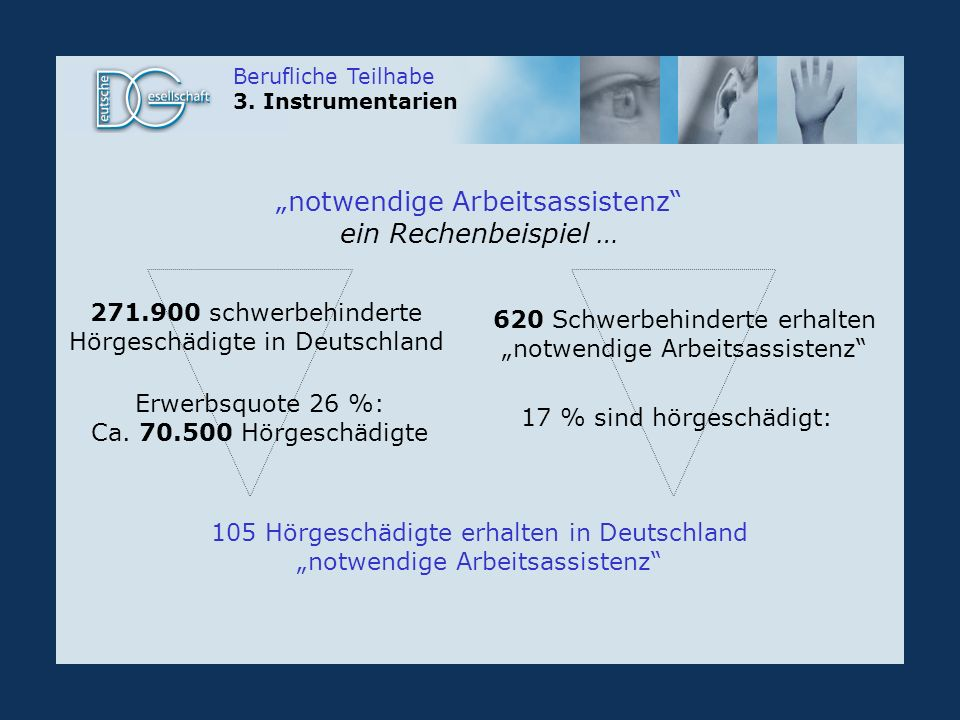 Berufliche Teilhabe 3.