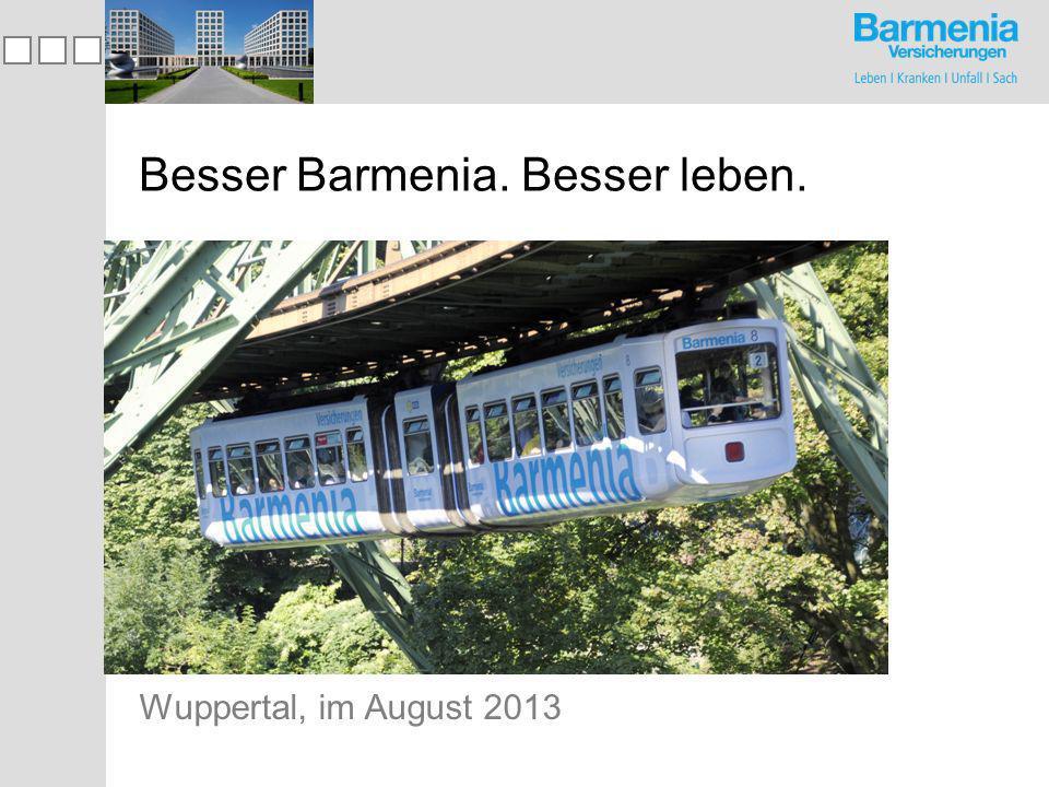 Besser Barmenia.Besser leben.