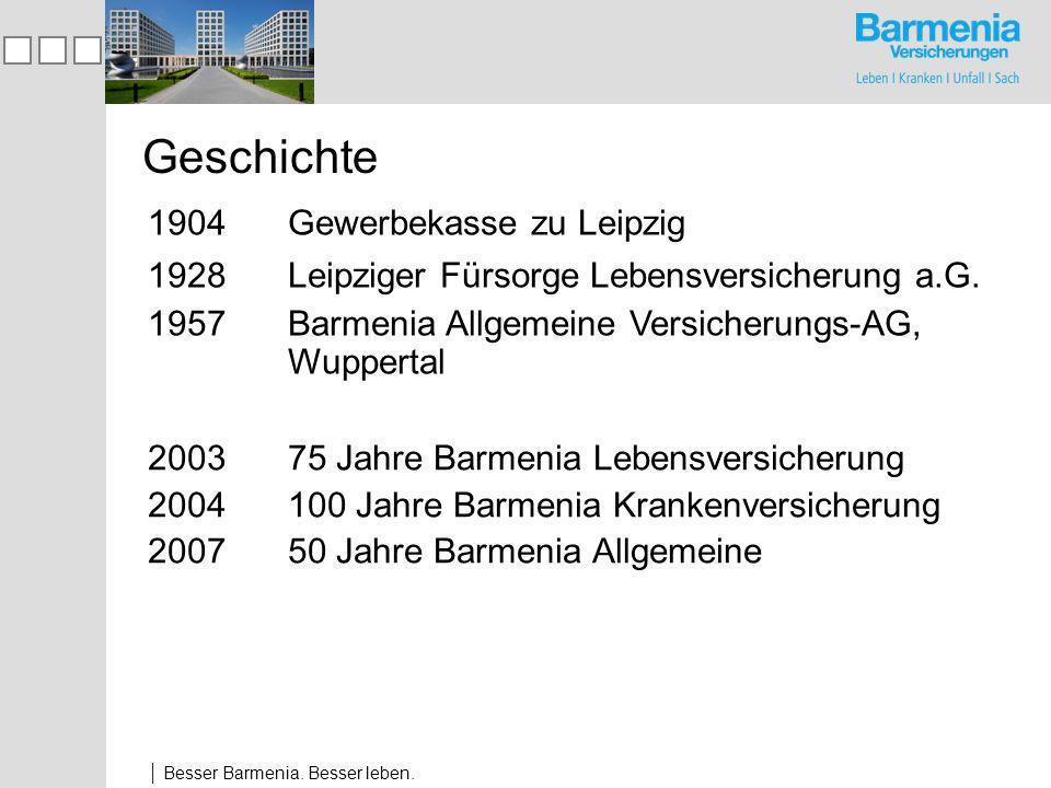 Besser Barmenia.Besser leben. Dr. Andreas Eurich Dipl.-Ök.