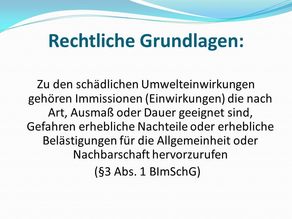 Genehmigungsvoraussetzungen § 6 Abs.