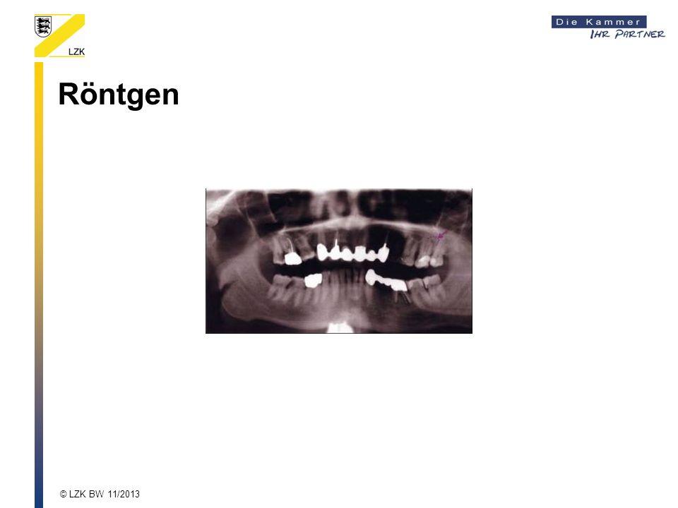 Röntgen © LZK BW 11/2013