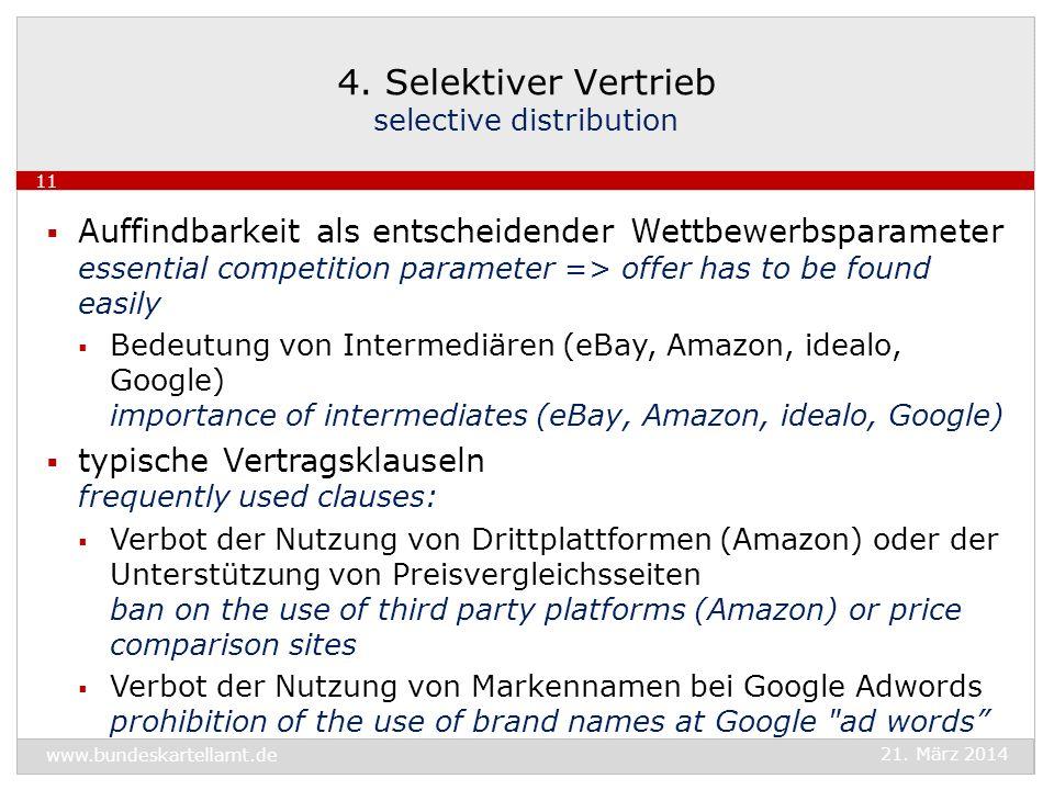 Auffindbarkeit als entscheidender Wettbewerbsparameter essential competition parameter => offer has to be found easily Bedeutung von Intermediären (eB
