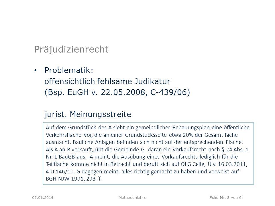 MethodenlehreFolie Nr.4 von 6 Normative Bedeutung.