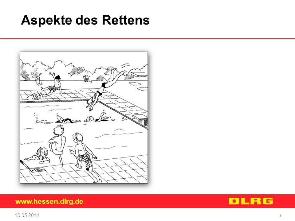 www.hessen.dlrg.de 16.05.2014 9 Aspekte des Rettens