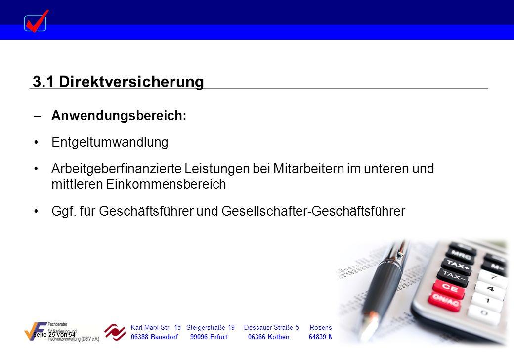Karl-Marx-Str. 15 Steigerstraße 19 Dessauer Straße 5 Rosenstraße 12 06388 Baasdorf 99096 Erfurt 06366 Köthen 64839 Münster –Anwendungsbereich: Entgelt