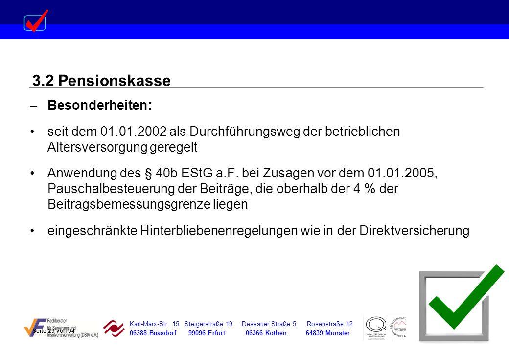 Karl-Marx-Str. 15 Steigerstraße 19 Dessauer Straße 5 Rosenstraße 12 06388 Baasdorf 99096 Erfurt 06366 Köthen 64839 Münster –Besonderheiten: seit dem 0