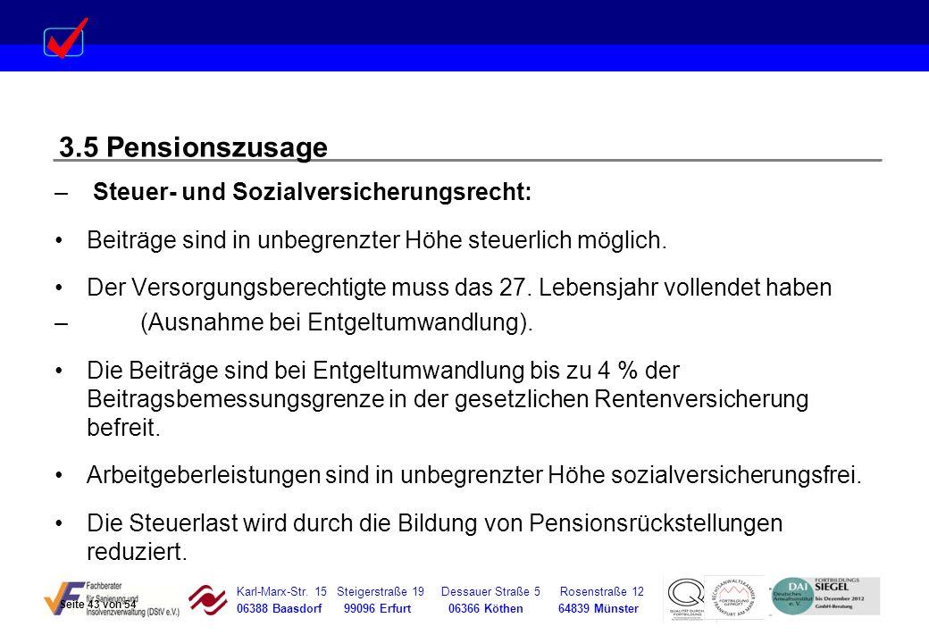 Karl-Marx-Str. 15 Steigerstraße 19 Dessauer Straße 5 Rosenstraße 12 06388 Baasdorf 99096 Erfurt 06366 Köthen 64839 Münster – Steuer- und Sozialversich