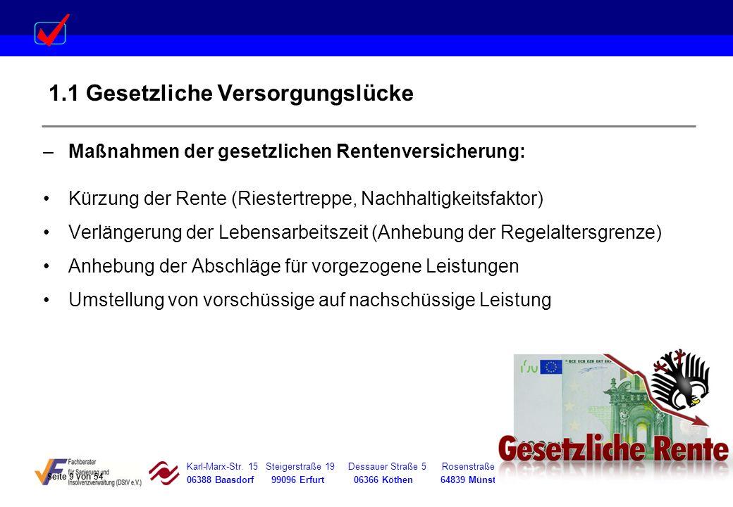 Karl-Marx-Str. 15 Steigerstraße 19 Dessauer Straße 5 Rosenstraße 12 06388 Baasdorf 99096 Erfurt 06366 Köthen 64839 Münster –Maßnahmen der gesetzlichen