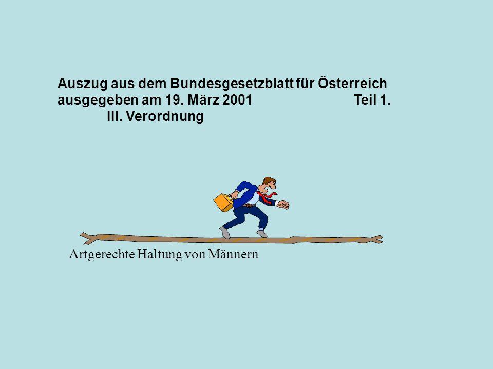Auszug aus dem Bundesgesetzblatt für Österreich ausgegeben am 19.