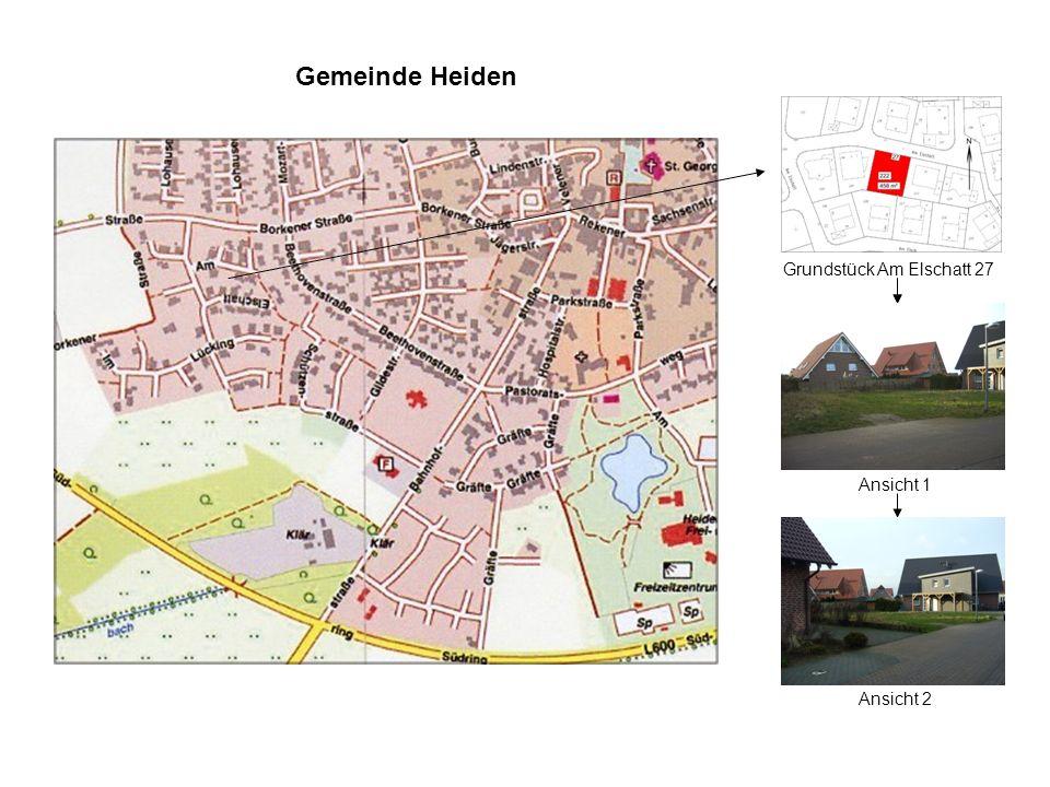 Gemeinde Heiden Grundstück Am Elschatt 27 Ansicht 2 Ansicht 1