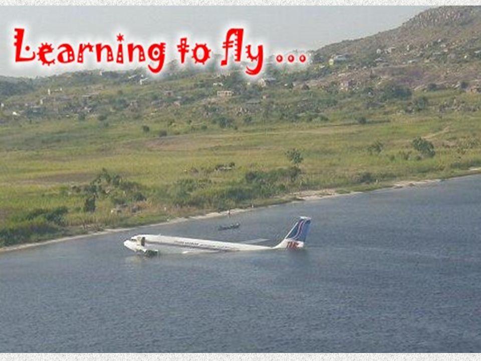 Zum Schluß noch ein ganz wichtiger Hinweis: Piloten ist nichts verboten.