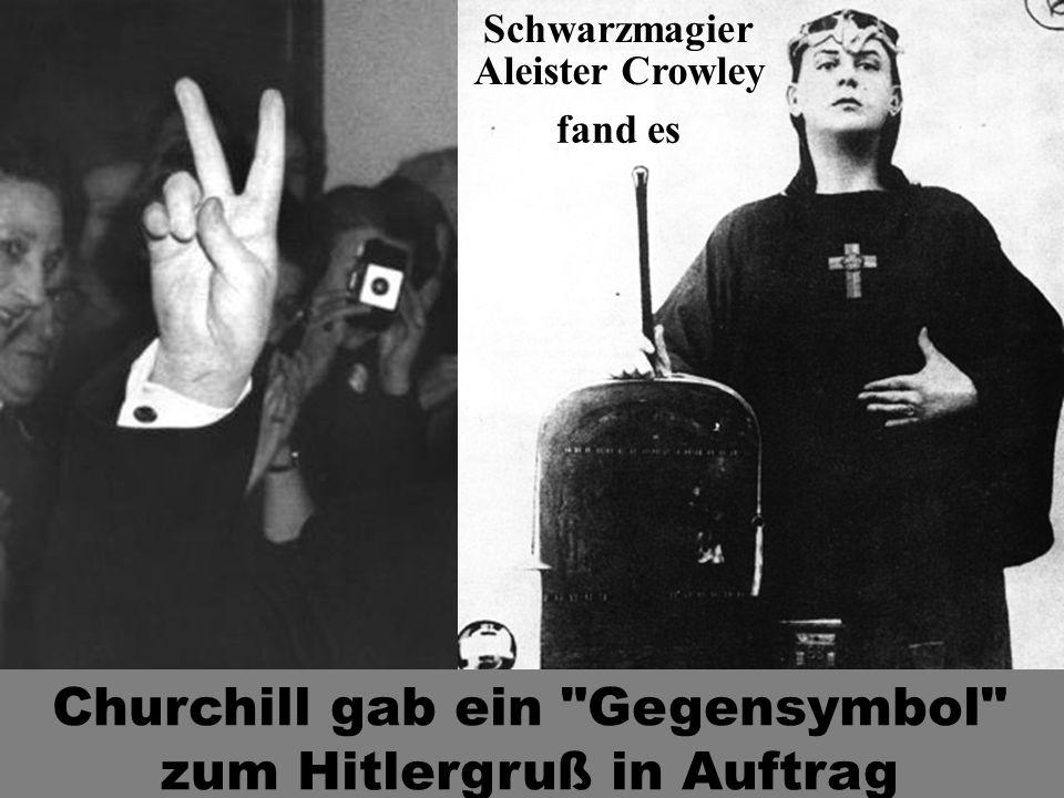 Aleister Crowley Churchill gab ein