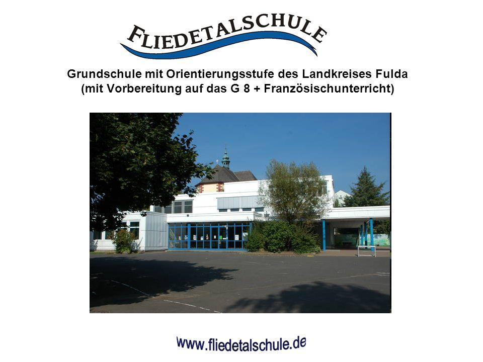 Einzige Grundschule mit Orientierungsstufe im Landkreis Fulda.