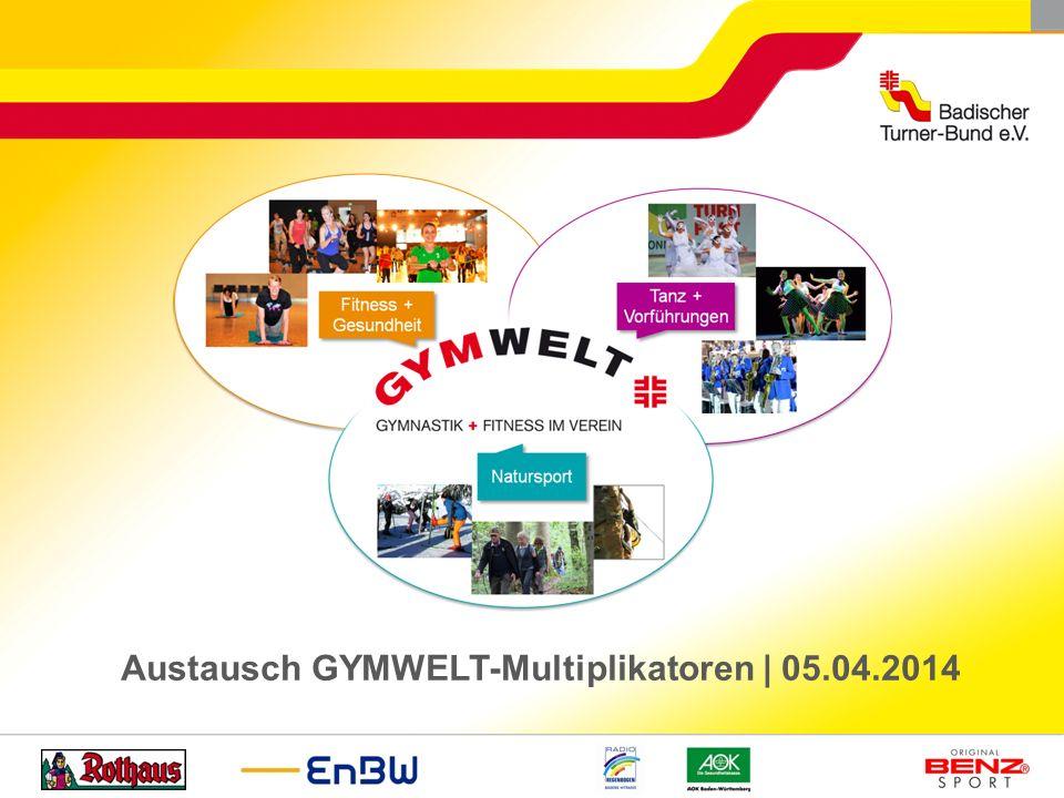 Austausch GYMWELT-Multiplikatoren   05.04.2014