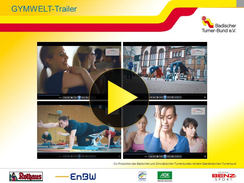 GYMWELT-Trailer Co-Produktion des Badischen und Schwäbischen Turnerbundes mit dem Saarländischen Turnerbund