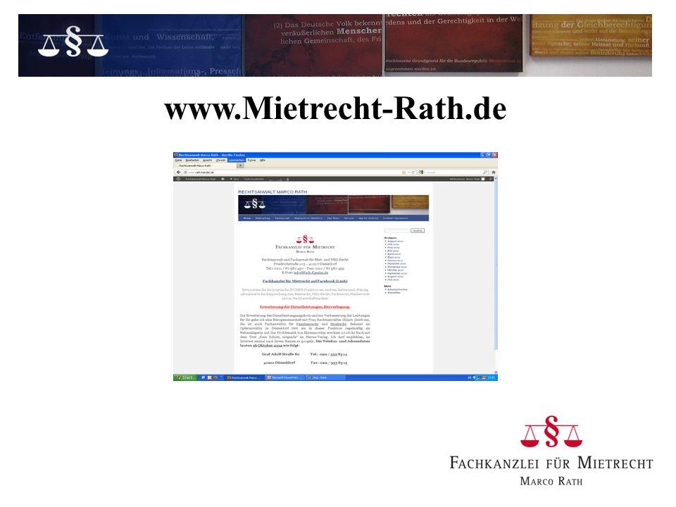 www.Mietrecht-Rath.de