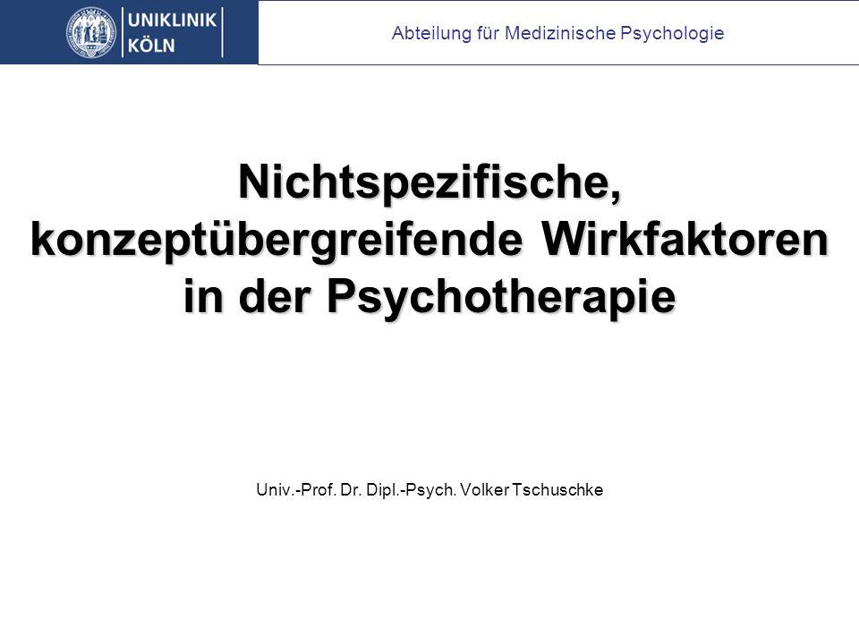 Univ.-Prof.Dr. Dipl.-Psych.