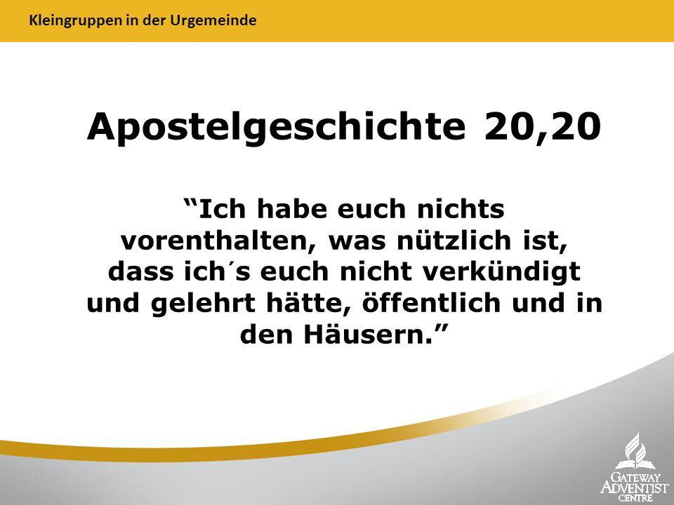 Apostelgeschichte 20,20 Ich habe euch nichts vorenthalten, was nützlich ist, dass ich´s euch nicht verkündigt und gelehrt hätte, öffentlich und in den Häusern.
