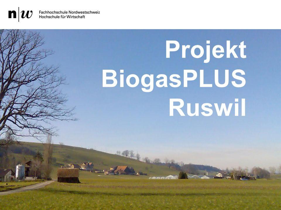 1. Begrüssung Projekt BiogasPLUS Ruswil