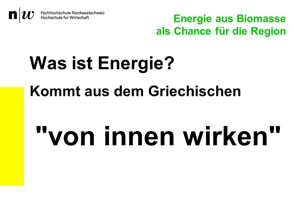 Was ist Energie? Kommt aus dem Griechischen