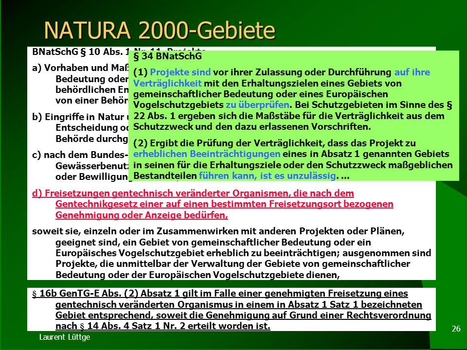 Laurent Lüttge 25 Standortregister II ( 4) Der allgemein zugängliche Teil des Bundesregisters und der Landesregister umfasst 1.die Bezeichnung des gen