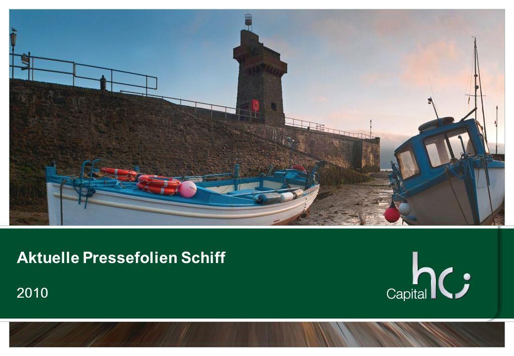 Aktuelle Pressefolien Schiff 2010