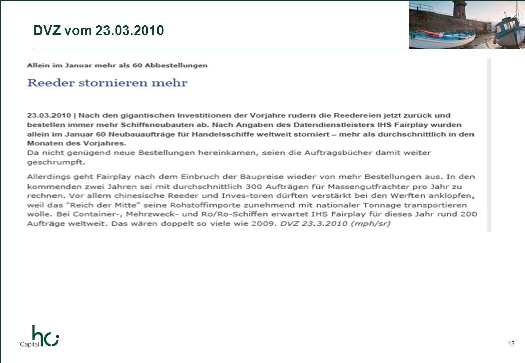 13 DVZ vom 23.03.2010