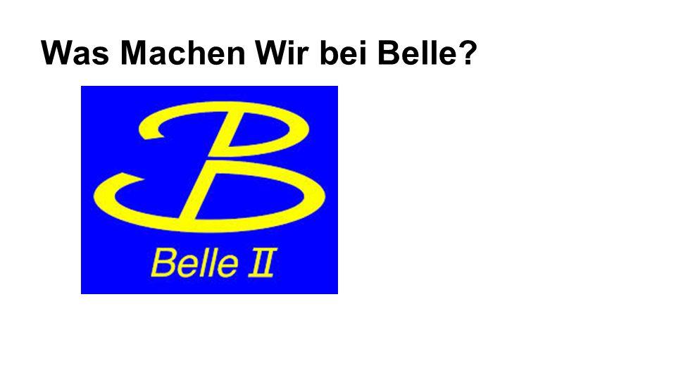 Was Machen Wir bei Belle?