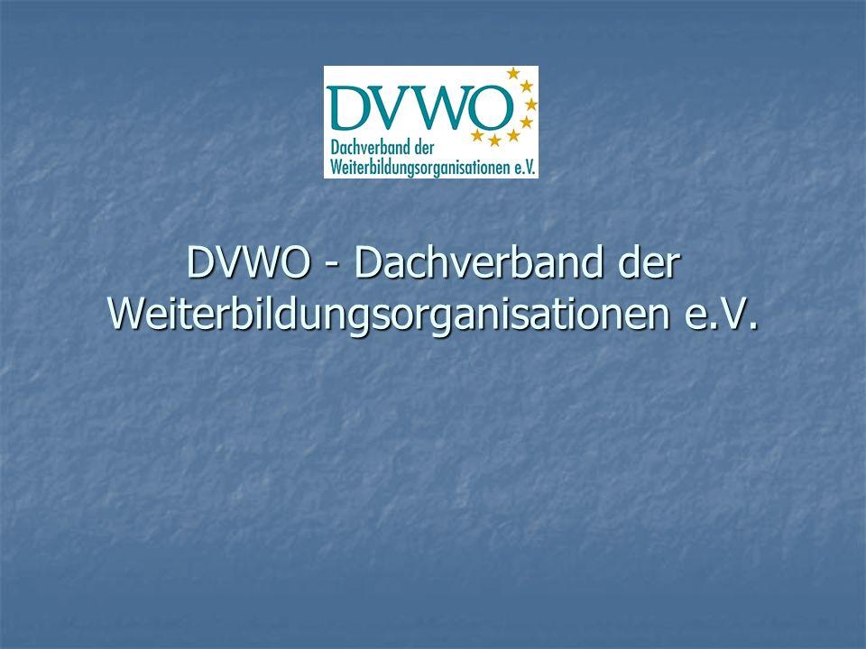 DVWO - Dachverband der Weiterbildungsorganisationen e.V.
