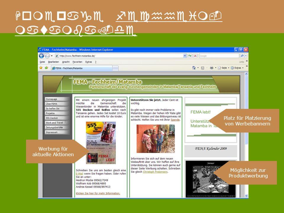 Homepage fechheim- matamba.de Geschichte und Besonderheiten des FEMA Kreises