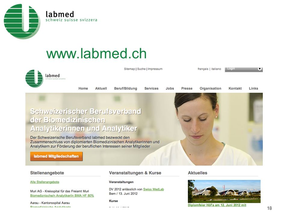 www.labmed.ch 18