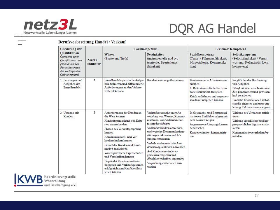 17 DQR AG Handel