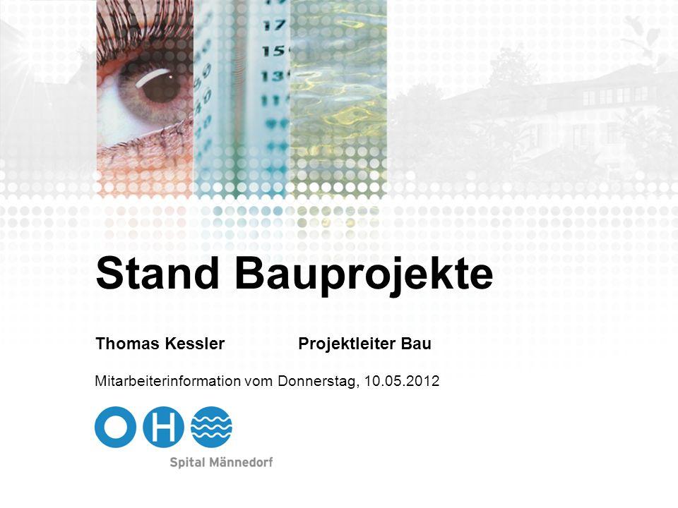 12 Abgeschlossene Bauprojekte 2012 Projekt 550 30 461: CHF 140000 Umbau Radiologie, Teilprojekt Mammographie spez.