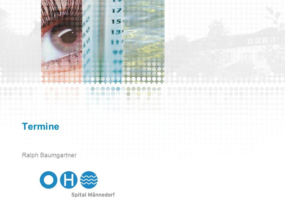 Termine Mitarbeiterinformationen 2012 Donnerstag, 5.