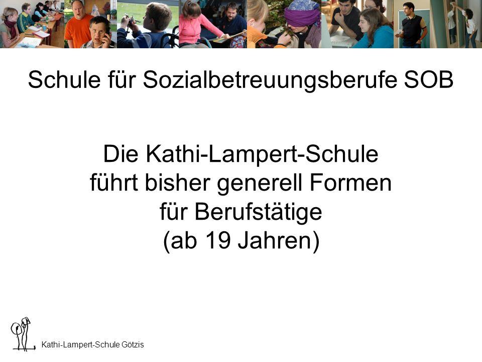 Kathi-Lampert-Schule Götzis Ausbildung ist in 2 Stufen gegliedert: 1.- 4.